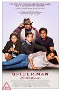 Spider-Man Homecoming The Breakfast Club poster