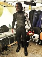 Winter Soldier behind the scenes 1