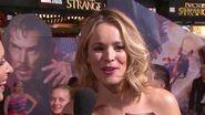 Rachel McAdams on Marvel's Doctor Strange Red Carpet Premiere