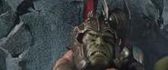 Thor restrains Hulk