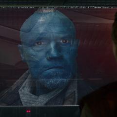 Quill es contactado por Yondu tras su traición.