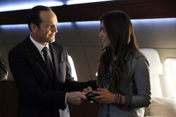 Coulson promotes Skye