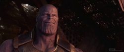 Thanos Smiling at the universe