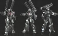Avengers Endgame War Machine concept art 3