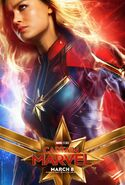 Captain Marvel (character poster)