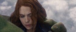 Hulk saves Natasha