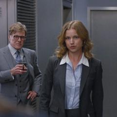 Sharon tiene un breve reencuentro con Rogers.