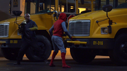 Shocker & Spider-Man - SMH BTS 02