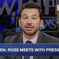 Noticia hablando de Ross planeando entrar en la política del país.