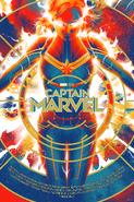 Captain Marvel Mondo Poster 1