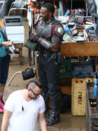 Civil War set photo 9