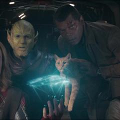 Fury y sus aliados encuentran el laboratorio espacial.