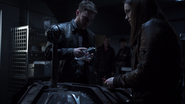 Fitz examines Kree Orb