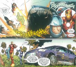 Iron Man Royal Purple Custom Comic Aiden Julius