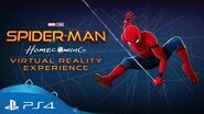 Spider-Man Homecoming VR Experience Trailer PS VR
