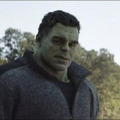 Banner se siente frustrado por el sacrificio de Romanoff.
