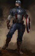 Captain America The First Avenger 2011 concept art 7