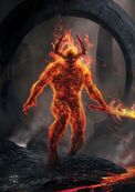 Concept art of Surtur