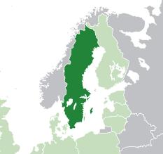 Image Map Of Swedenpng Marvel Cinematic Universe Wiki - Sweden map 2015