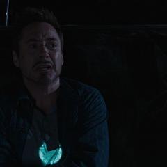 Stark tiene un ataque de pánico.