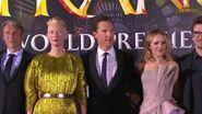 The Cast of Marvel's Doctor Strange Unite at the Red Carpet Premiere