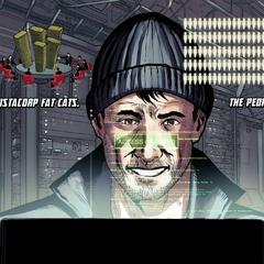 Lang piratea el sistema de Vistacorp para devolverle su dinero a los clientes.