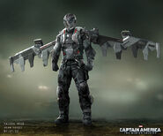 Captain America The Winter Soldier 2014 concept art 37
