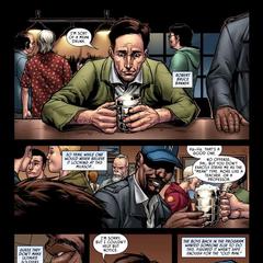 Banner habla con Fury.