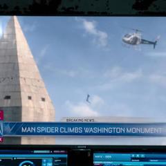 El Hombre Araña es reconocido por <i>Fox News</i>.