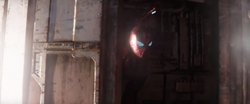 Iron Spider inside Q-Ship