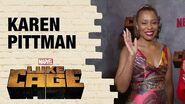 Karen Pittman on how Priscilla Ridley supports Misty Knight in Marvel's Luke Cage Season 2