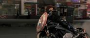 Black Widow's Motorcycle