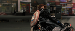 Black Widow's Motorcycle
