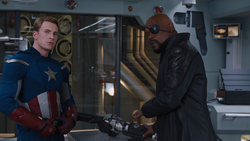 Captain America & Nick Fury