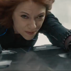 Romanoff momentos antes de ser secuestrada por Ultrón.