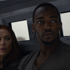 Romanoff y Wilson observan como Hill los rescata.