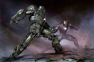 Iron Man 2 2010 concept art 10