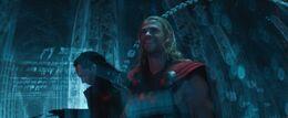 Loki and Thor in a Dark Elf Ship 2