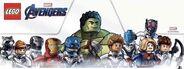 Avengers Endgame Lego Banner