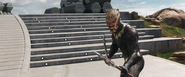 Killmonger Suits Up