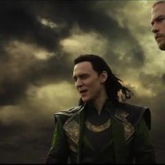 Loki y Thor llegan a Svartalfheim.