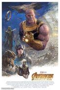 Pablo Rivera Avengers Infinity War poster