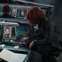S.H.I.E.L.D. busca satelitalmente a Barton y Selvig.