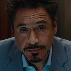 Stark cuestionándose sobre sus decisiones de la vida.