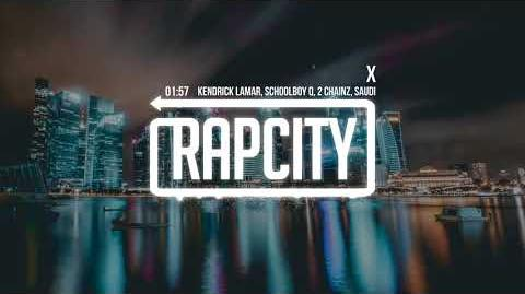 Kendrick Lamar - X (ft. ScHoolboy Q, 2 Chainz & Saudi) Lyrics