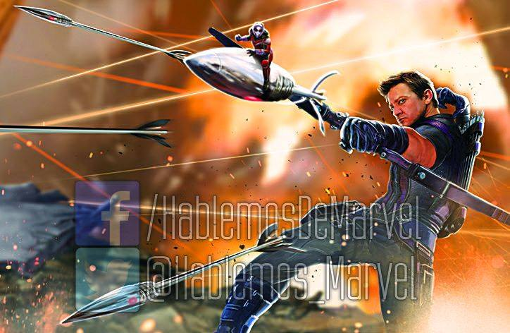 Image result for hawkeye and ant-man