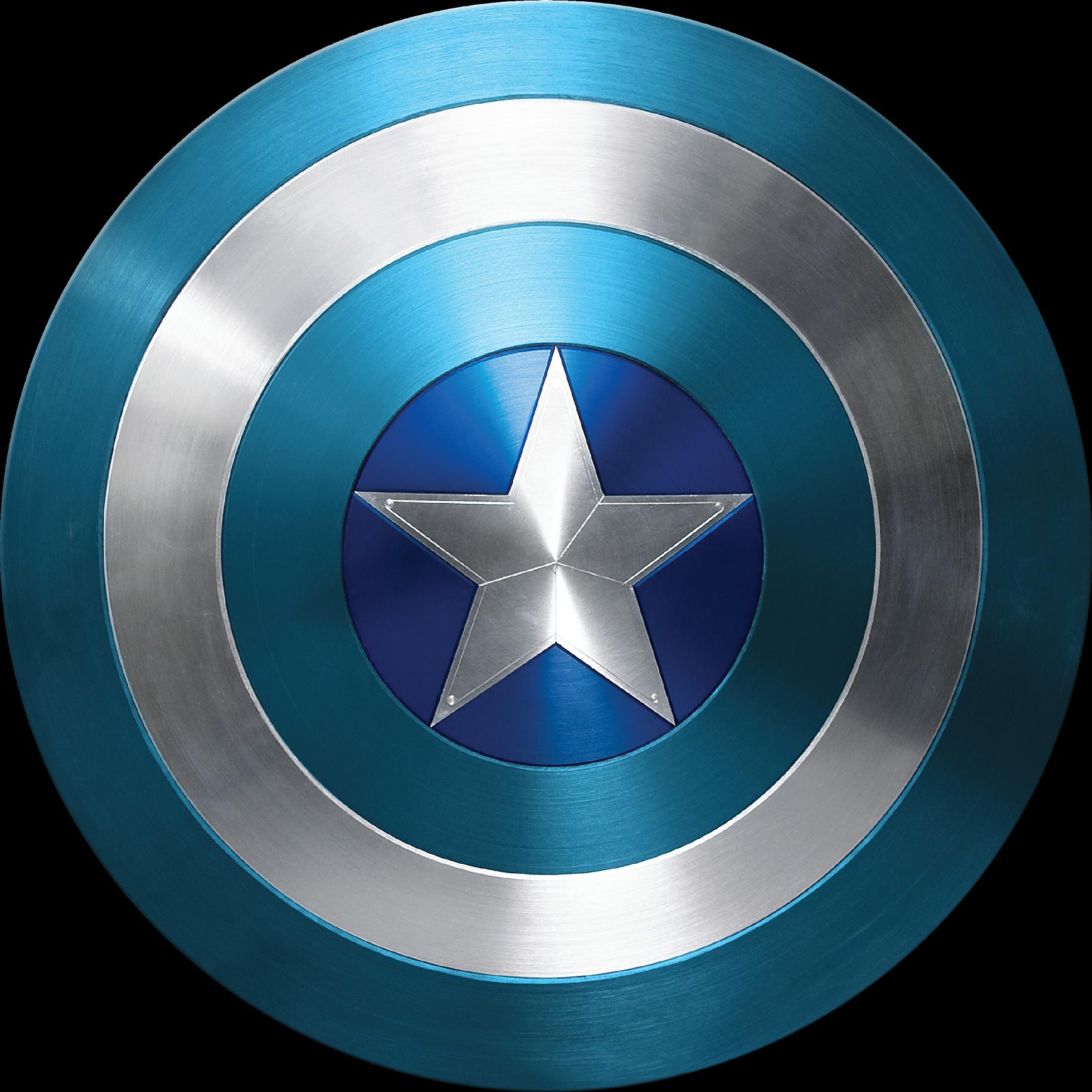 SCUDO di Capitan America Star Hero Kids T Shirt