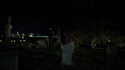 FCastle visits his familys grave