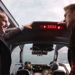 Coulson conoce a Rogers.