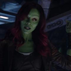 Gamora confirma las intenciones de Thanos para reunir las Gemas del Infinito.